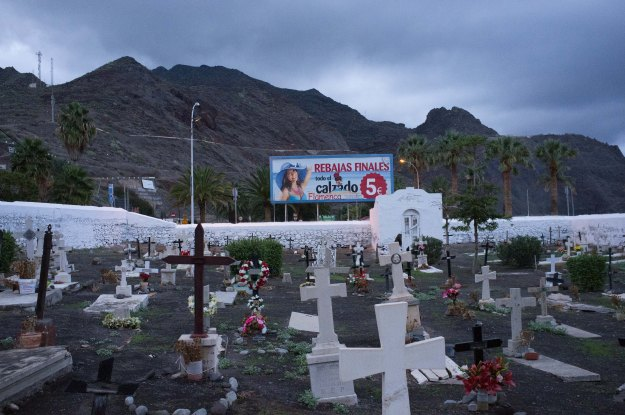 Cemetry in San Andres, Tenerife