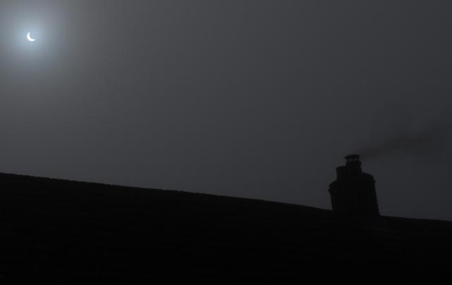 Eclipse - Llanybydder, West Wales, 0925