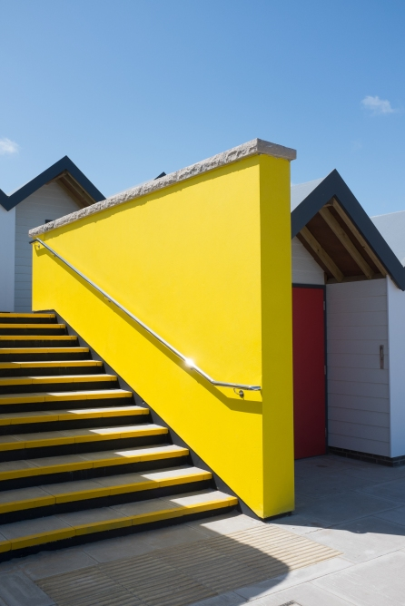 Swanage beach huts