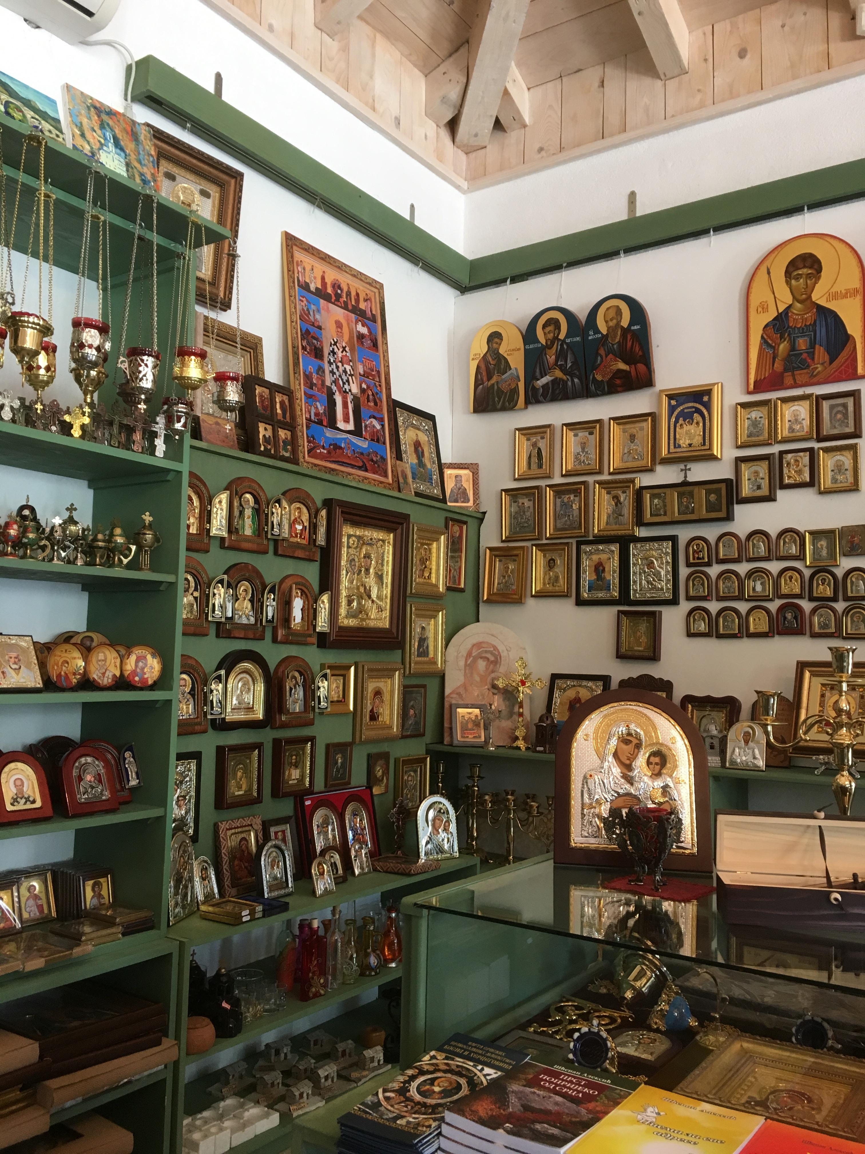 monastery gift shop